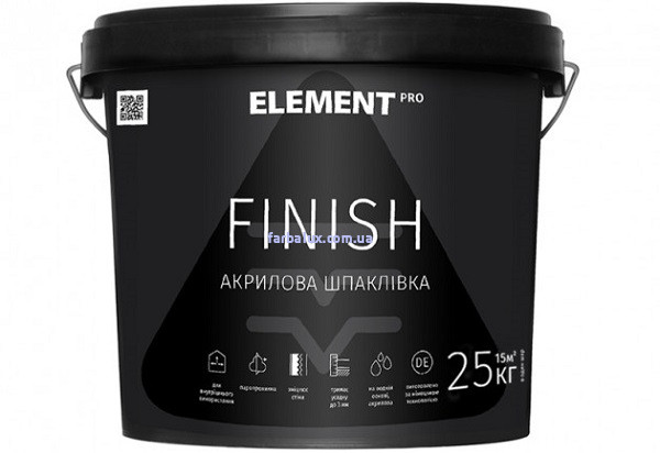 Шпаклівка ELEMENT PRO FINISH